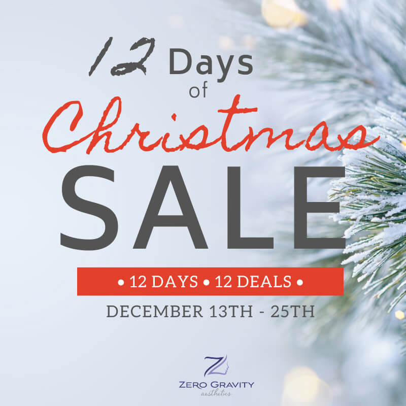 12 Days of Christmas Med Spa Sale