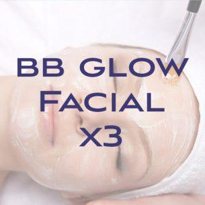 BB Glow Facial x3